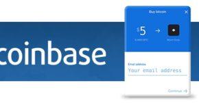 Coinbase Buy Widget