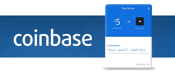 Coinbase Buy Widget