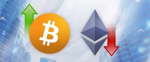 Cryptocurrency Prices: Bitcoin Up, Ethereum Down