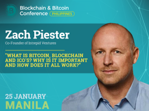 Zach Piester Blockchain & Bitcoin Conference Philippines