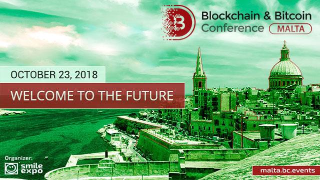 Blockchain and Bitcoin Conference Malta 2018