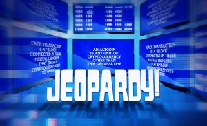 Cryptocurrency as a New Category on Jeopardy!