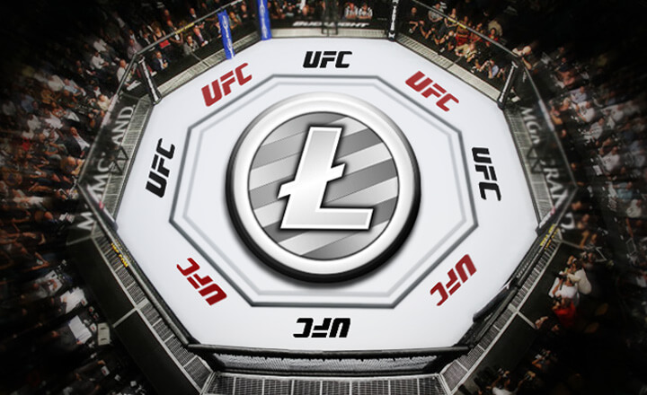 Litecoin: First Crypto Sponsor of UFC